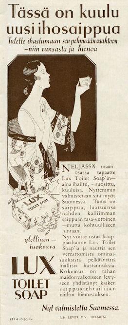 Uusi ihosaippua Lux Toilet Soap