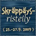 Skräppäysristeily 25.-27.9.2009