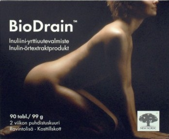 BioDrain pakkauksen kansi