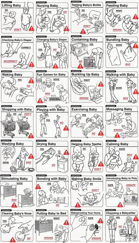 Vauvanhoito-ohjeet