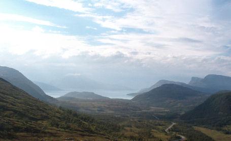 Pohjois-Norjassa Belvikan lähellä heinäkuussa 2003.