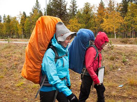 Erämaavaellus seikkailukasvatukselliseen tapaan - Karin retki- ja valokuvaussivut - Vuodatus.net