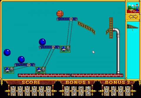 Incredible machine -kuvakaappaus